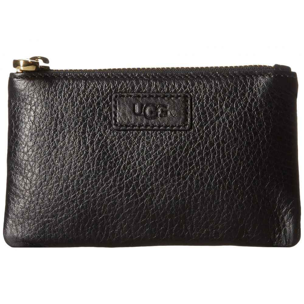 アグ UGG レディース ポーチ【Small Zip Pouch Leather】Black