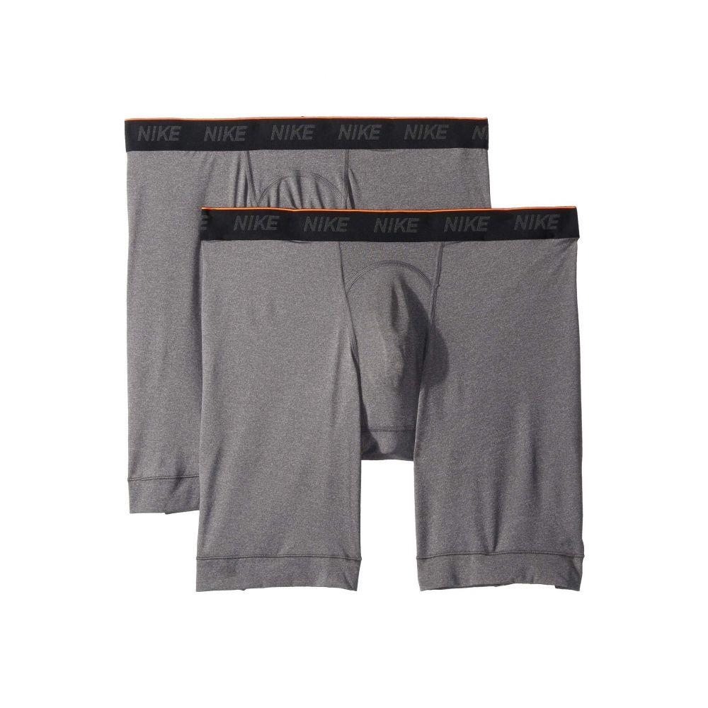 ナイキ Nike メンズ インナー・下着 ブリーフ【Brief Long 2-Pair Pack】Anthracite/Black/White