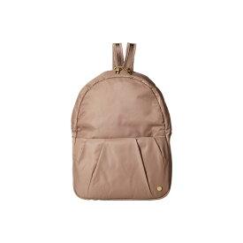 パックセイフ Pacsafe レディース バッグ バックパック・リュック【Citysafe CX Anti-Theft Convertible Backpack to Crossbody】Blush Tan