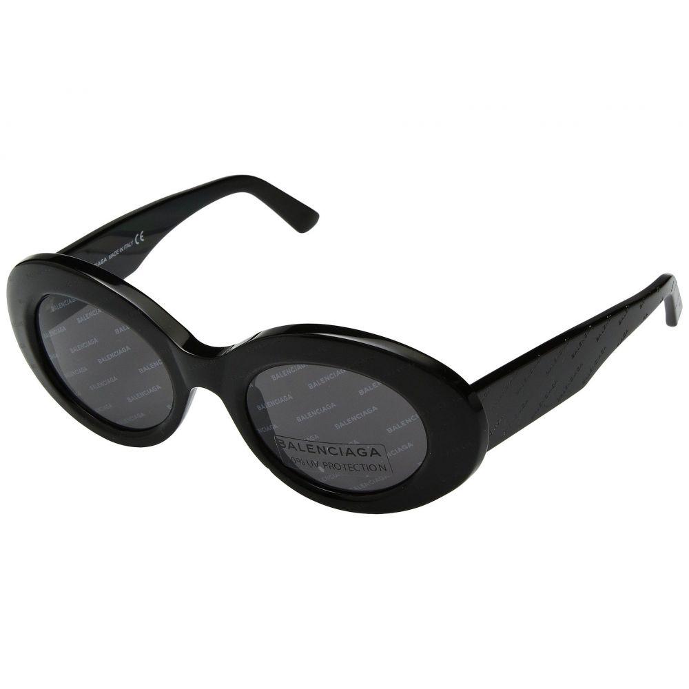 バレンシアガ Balenciaga レディース メガネ・サングラス【BA0143】Black/Other/Smoke