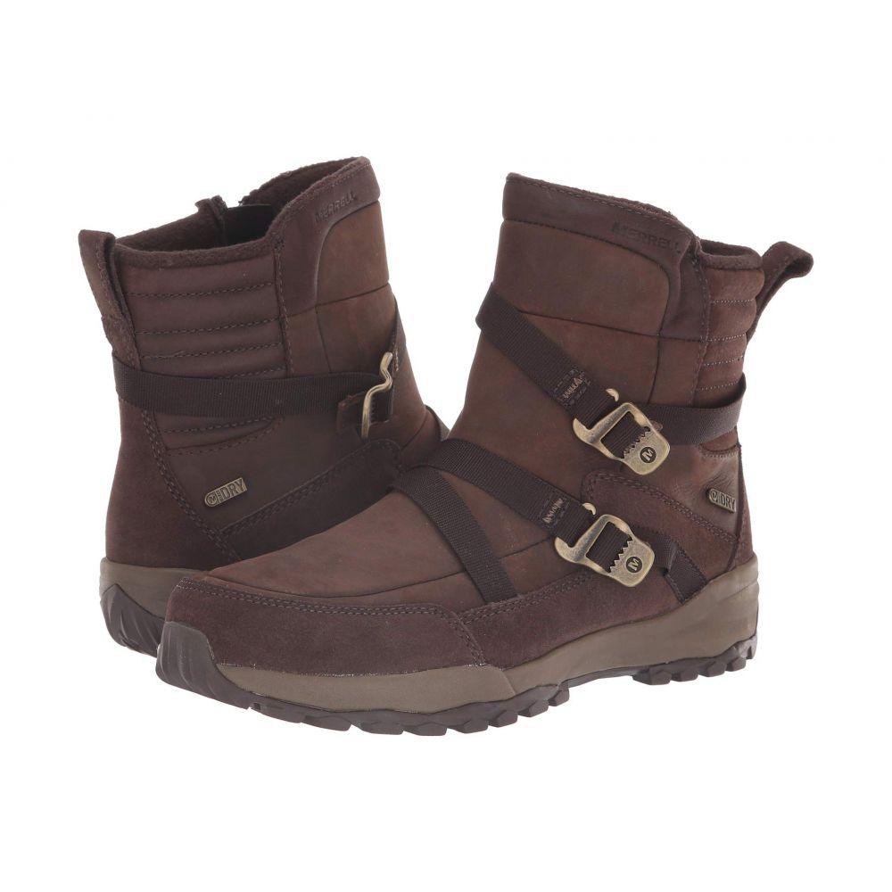 メレル Merrell レディース シューズ・靴 ブーツ【Icepack 8' Mid Zip Polar Waterproof】Espresso