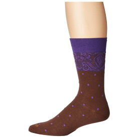 エトロ Etro メンズ インナー・下着 ソックス【Polka Dot Socks】Purple