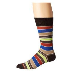 エトロ Etro メンズ インナー・下着 ソックス【Bold Striped Socks】Black Multi