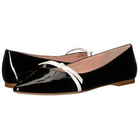 ケイト スペード Kate Spade New York レディース シューズ・靴 スリッポン・フラット【Delilah】Black/White Patent