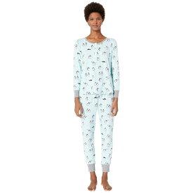 ケイト スペード Kate Spade New York レディース インナー・下着 パジャマ・上下セット【Printed Jogger Pajama Set】Penguins