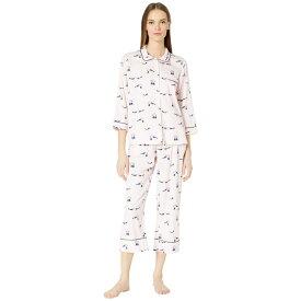 ケイト スペード Kate Spade New York レディース インナー・下着 パジャマ・上下セット【Sateen Long Pajama Set】Love Birds