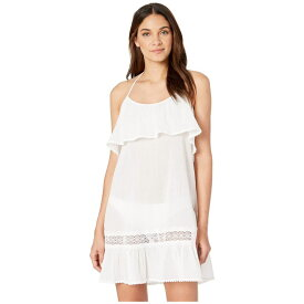 ケイト スペード Kate Spade New York レディース 水着・ビーチウェア ビーチウェア【Grove Beach Ruffle Cover-Up Dress】Fresh White