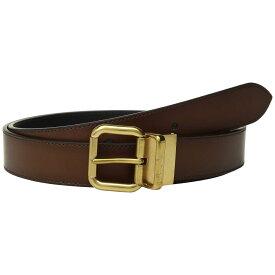 コーチ COACH メンズ ベルト【32 mm Jeans Buckle Cts/Reversible Burnished Leather Belt】Multi 1