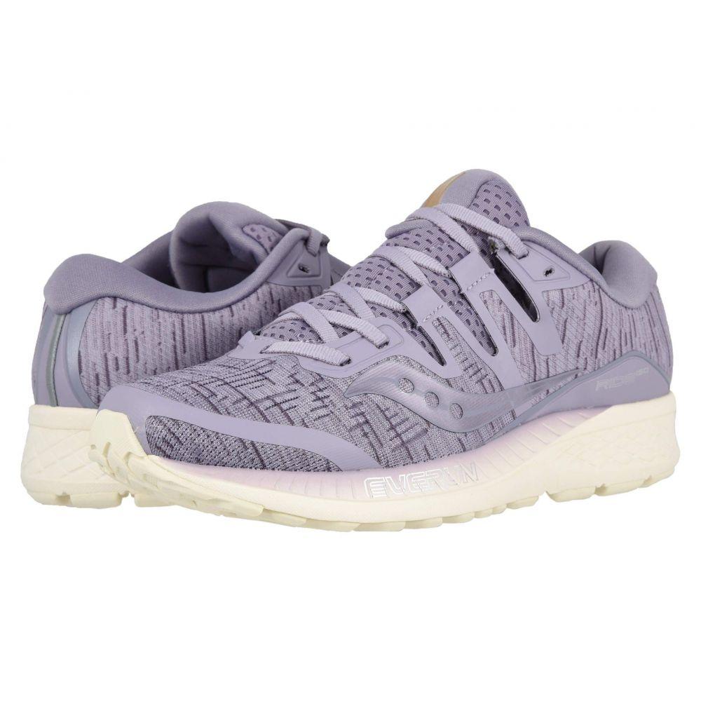 サッカニー Saucony レディース ランニング・ウォーキング シューズ・靴【Ride ISO】Purple Shade
