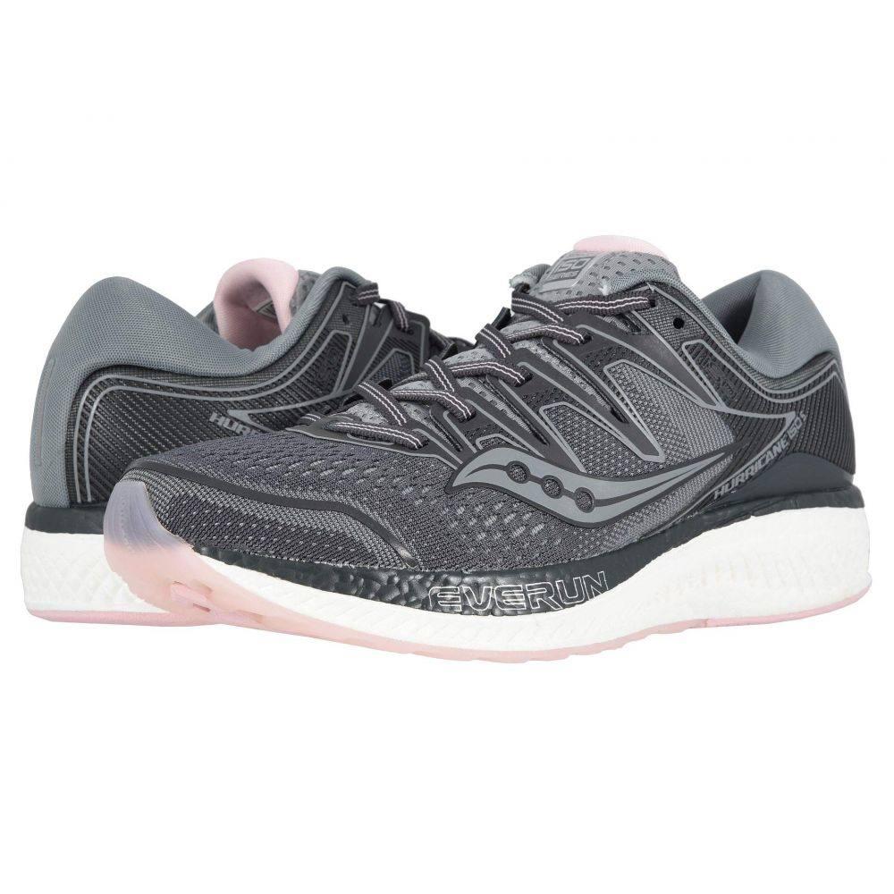 サッカニー Saucony レディース ランニング・ウォーキング シューズ・靴【Hurricane ISO 5】Slate/Black