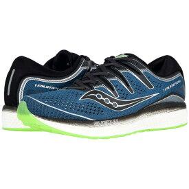 サッカニー Saucony メンズ ランニング・ウォーキング シューズ・靴【Triumph ISO 5】Steel/Black
