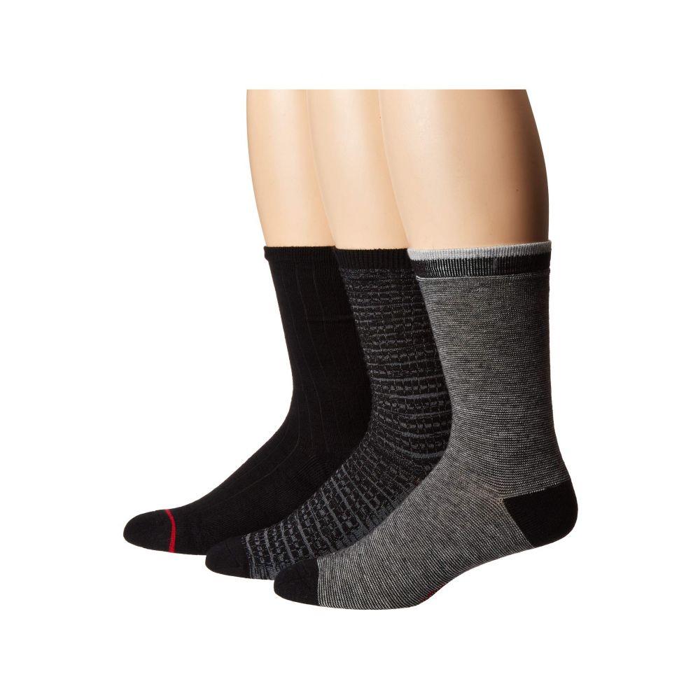 アグ UGG メンズ インナー・下着 ソックス【Otto Crew Socks Gift Set】Black Multi