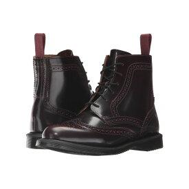 ドクターマーチン Dr. Martens レディース シューズ・靴 ブーツ【Delphine 6-Eye Brogue Boot】Cherry Red Arcadia