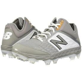 ニューバランス New Balance メンズ 野球 シューズ・靴【PM3000v4】Grey/White