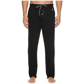 ノーティカ Nautica メンズ インナー・下着 パジャマ・ボトムのみ【Knit Sleep Pants】True Black