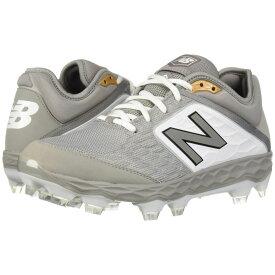 ニューバランス New Balance メンズ 野球 シューズ・靴【PL3000v4】Grey/White