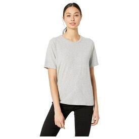ハーレー Hurley レディース トップス Tシャツ【Perfect Crew Tee Short Sleeve】Grey Heather
