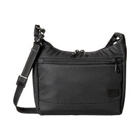 パックセイフ Pacsafe レディース バッグ ハンドバッグ【Citysafe CS100 Anti-Theft Travel Handbag】Black