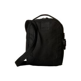 パックセイフ Pacsafe レディース バッグ ショルダーバッグ【Metrosafe LS100 Anti-Theft Crossbody Bag】Black