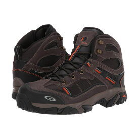 ハイテック Hi-Tec メンズ シューズ・靴 ブーツ【Explorer Mid I WP Steel Toe】Chocolate/Burnt Orange