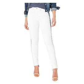 ハドソン Hudson レディース ボトムス・パンツ ジーンズ・デニム【Barbara High-Rise Ankle Skinny Jeans with Denim Insert in White Ice】White Ice
