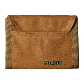 フィルソン Filson レディース 財布【Smokejumper Wallet】Dark Tan