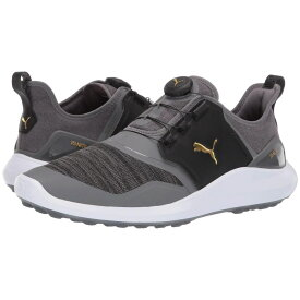 プーマ PUMA Golf メンズ シューズ・靴 スニーカー【Ignite NXT Disc】Quiet Shade/Teacm Gold/Black
