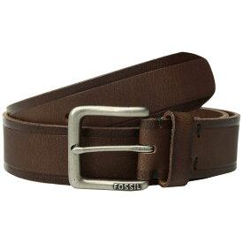 フォッシル Fossil メンズ ベルト【Kit Belt】Brown