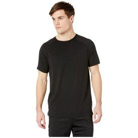 アロー ALO メンズ トップス Tシャツ【The Triumph Crew Neck Tee】Solid Black Tri-Blend