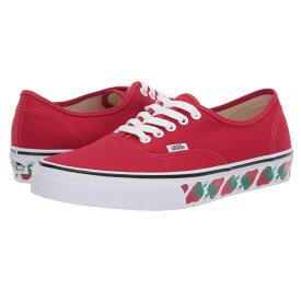 ヴァンズ Vans レディース シューズ・靴 スニーカー【Authentic(TM)】Strawberry Tape) Red/Black