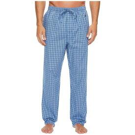 ノーティカ Nautica メンズ インナー・下着 パジャマ・ボトムのみ【Plaid Sleep Pants】Light French Blue