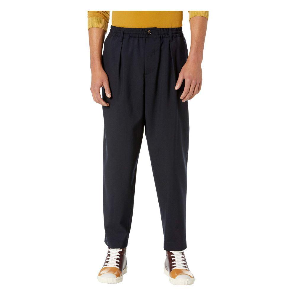 マルニ MARNI メンズ ボトムス・パンツ【Tropical Wool Pants】Blue Navy
