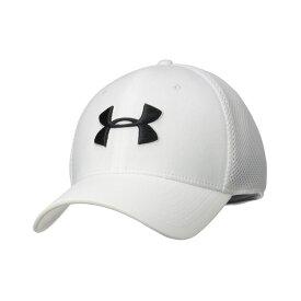 アンダーアーマー Under Armour メンズ 帽子 キャップ【TB Classic Mesh Cap】White/White/Academy