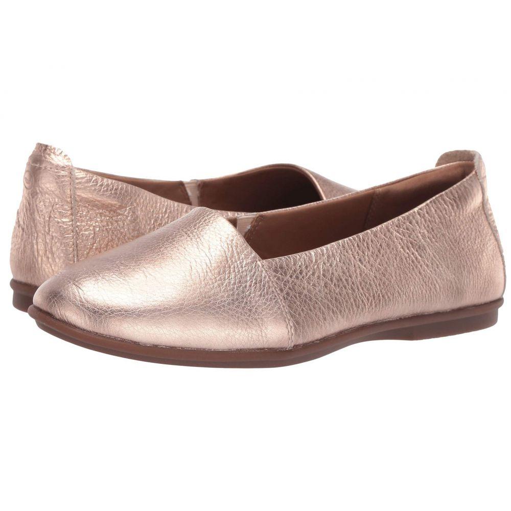 クラークス Clarks レディース シューズ・靴 スリッポン・フラット【Un Coral Step】Rose Gold