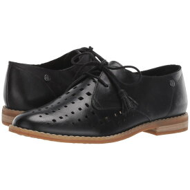 ハッシュパピー Hush Puppies レディース シューズ・靴 ローファー・オックスフォード【Chardon Perf Oxford】Black Leather