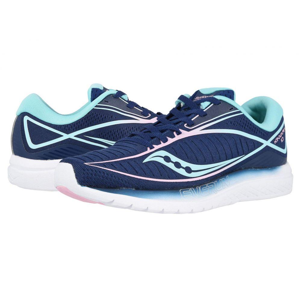 サッカニー Saucony レディース ランニング・ウォーキング シューズ・靴【Kinvara 10】Navy/Mint