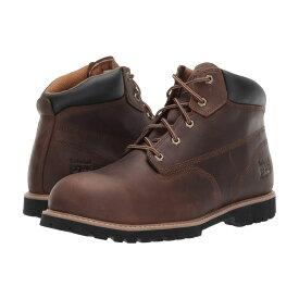 ティンバーランド Timberland PRO メンズ シューズ・靴 ブーツ【Gritstone 6' Steel Safety Toe】Brown Leather