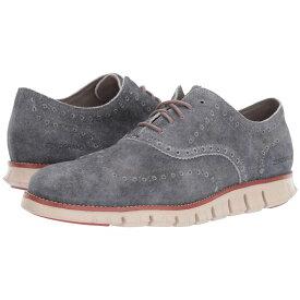コールハーン Cole Haan メンズ シューズ・靴 革靴・ビジネスシューズ【Zerogrand Wingtip Oxford Leather】Denim Extra Grey Suede/Redwood/Brazilian Sand