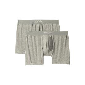 ヒューゴ ボス BOSS Hugo Boss メンズ インナー・下着 ボクサーパンツ【2-Pack Ultrasoft Micro Modal Boxer Brief】Grey