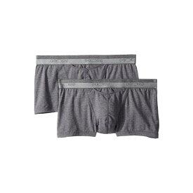 オム HOM メンズ インナー・下着 ボクサーパンツ【HO-1 Boxer Briefs 2-Pack】Grey Melange