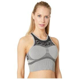 アディダス adidas by Stella McCartney レディース インナー・下着 ブラジャーのみ【Prime Knit Crop DT9296】CH Solid Grey/Black