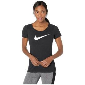 ナイキ Nike レディース トップス Tシャツ【Dry Tee Scoop Swoosh Cross-Dye】Black/Black/Heather