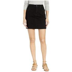 ハドソン Hudson レディース スカート【Lulu Denim Skirt in Black】Black