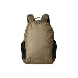パックセイフ Pacsafe レディース バッグ バックパック・リュック【Metrosafe LS350 Anti-Theft 15L Backpack】Earth Khaki