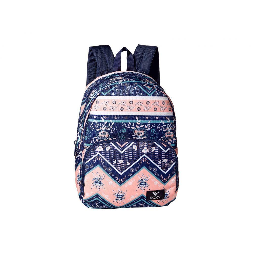 ロキシー Roxy レディース バッグ バックパック・リュック【Always Core Backpack】Medieval Blue/Newport Border