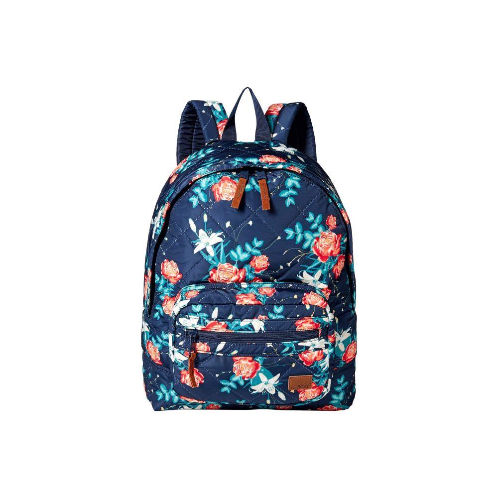ロキシー Roxy レディース バッグ バックパック・リュック【Morning Light Backpack】Dress Blues Garden Lily