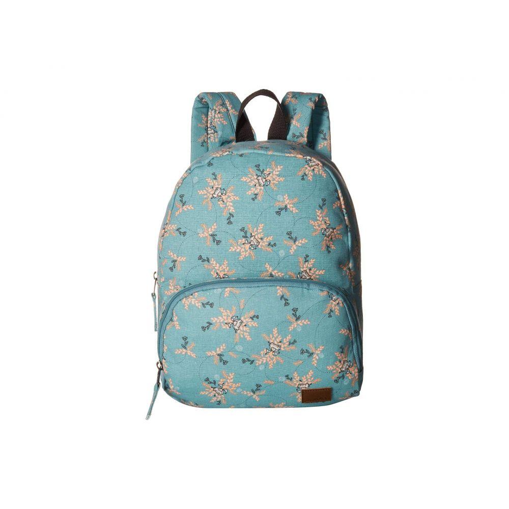ロキシー Roxy レディース バッグ バックパック・リュック【Always Core Canvas Backpack】Aquifer/Flowers Everyday Swim