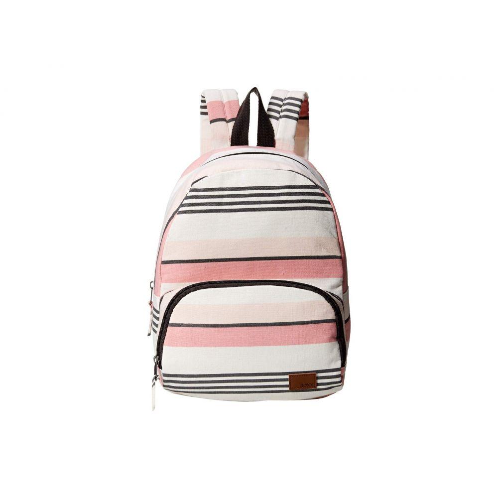 ロキシー Roxy レディース バッグ バックパック・リュック【Always Core Canvas Backpack】Marhmallow Day Break Stripe