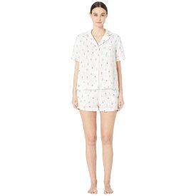 ケイト スペード Kate Spade New York レディース インナー・下着 パジャマ・上下セット【Cotton Lawn Short Pajama Set】Cactus Pots