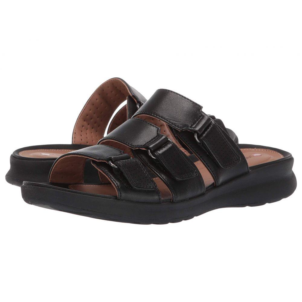 クラークス Clarks レディース シューズ・靴 サンダル・ミュール【Un Adorn Lane】Black Leather